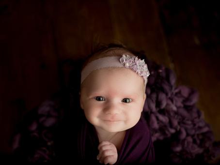 Baby Girl Newborn Photo Session   Doylestown, PA