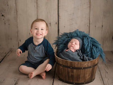 Newborn and Sibling Photography   Doylestown, PA