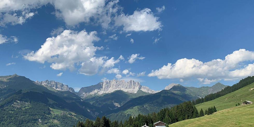 YOGA-PRANAYAMA&MEDITATION RETREAT in the Swiss Alps