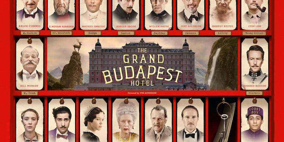 Virtual Movie Night: The Grand Budapest Hotel