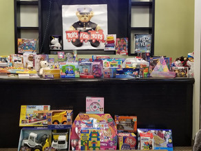 TCPC HOLIDAY PARTY - Fun, refreshments and Toys for Tots galore!