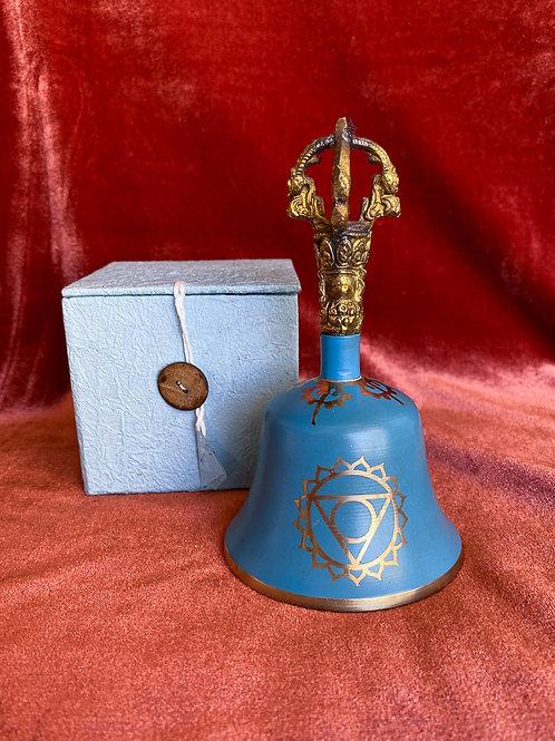 Throat Chakra Meditation Bell