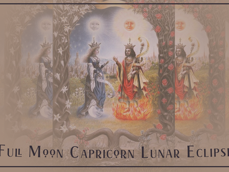 Lunar Eclipse in Capricorn, Your Weekly Forecast 6/29-7/5
