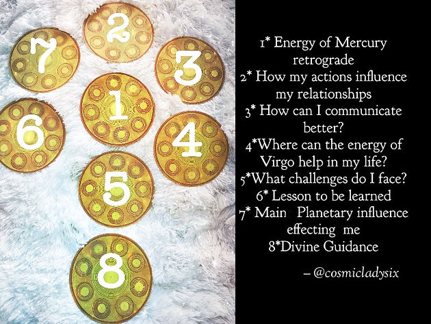Mercury Retrograde in Virgo | Home | Cosmic Lady Six Tarot