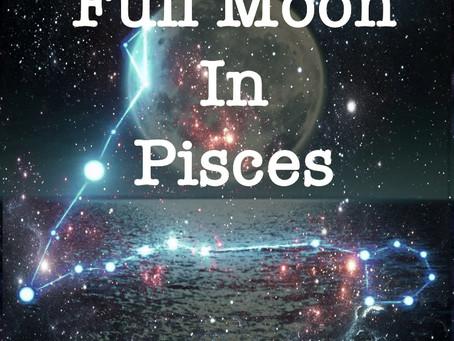 Full Harvest Moon in Pisces