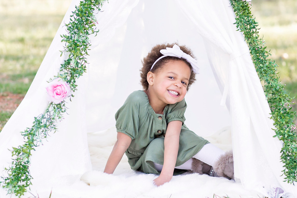 floral teepee short sessions