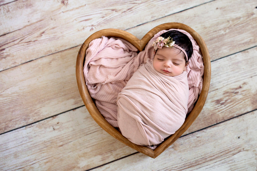 charlottesville newborn girl photography