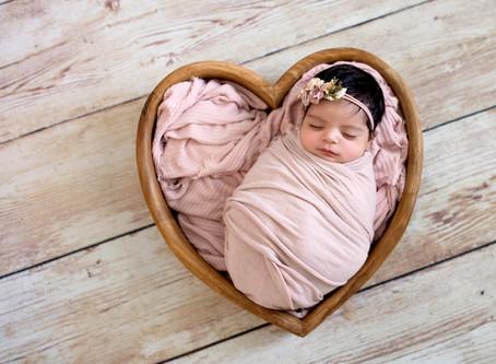 Charlottesville Newborn Photographer | Heart Bowl