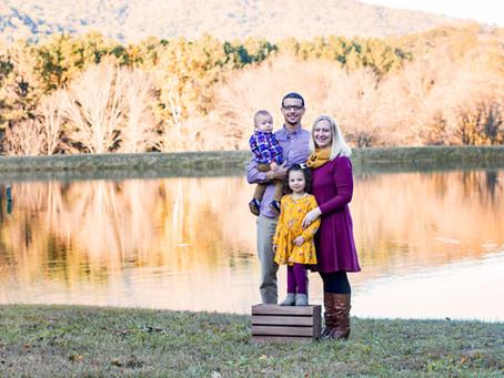 Parrish Family Fall 2018 | Charlottesville Family Photographer