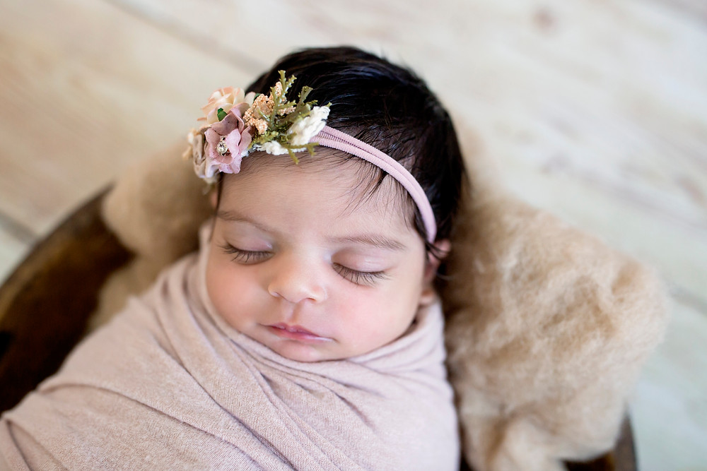 newborn girl charlottesville