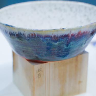 染藍陶器 Blue Ceramics