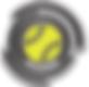 Spin tennis coach singapore ball Logo