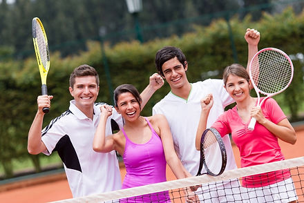 Tennis coaching Private group
