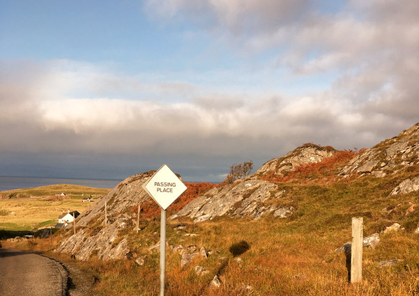 The Approach to Clachtoll