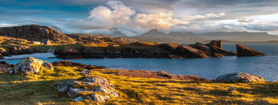 Clachtoll from the hills