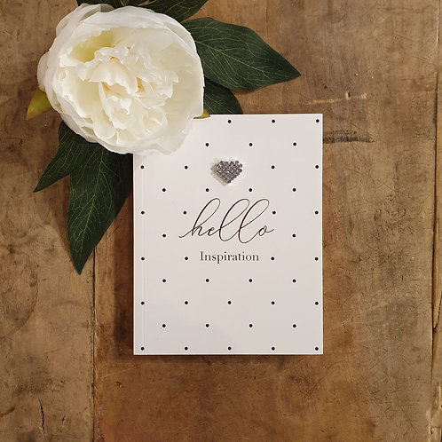 'Hello Inspiration' Small Notebook