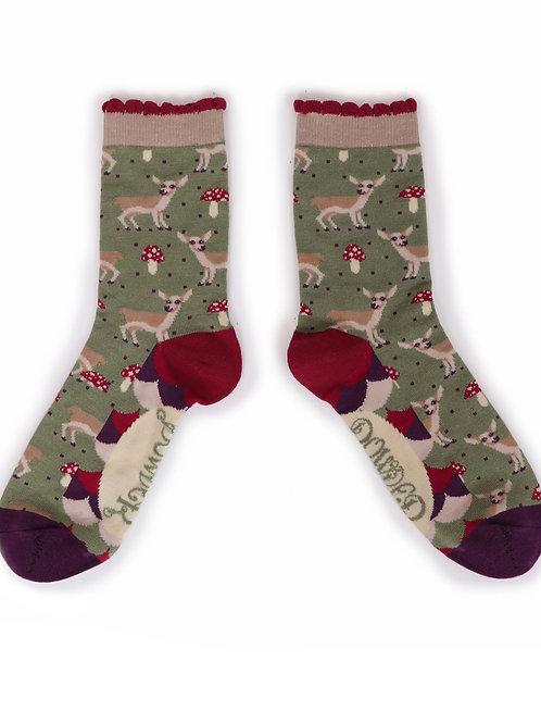 Baby Deer Ankle Socks