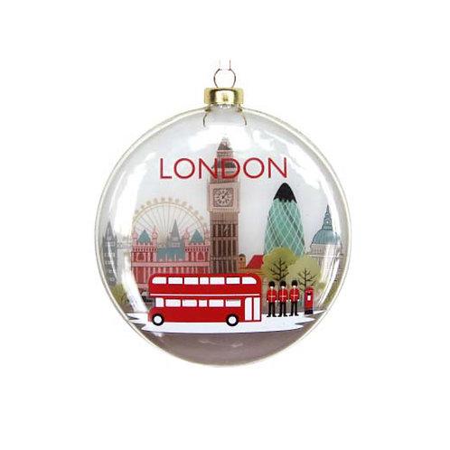 London Glass Disc Decoration