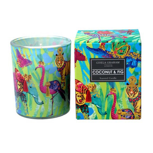 Fantasy Coconut and Fig Scented Candle - Small