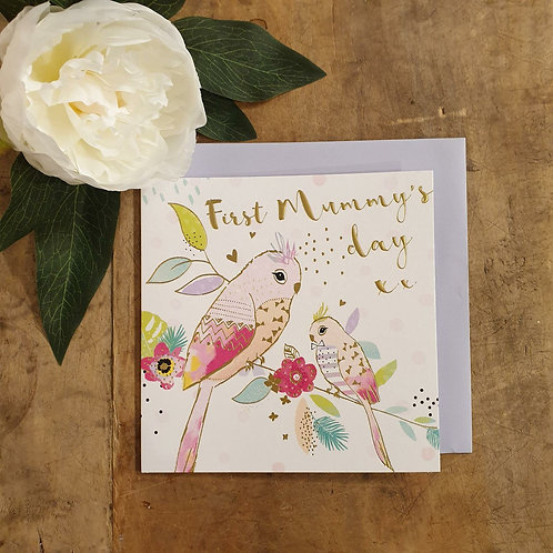 First Mummy's Day - Mother's Day Card
