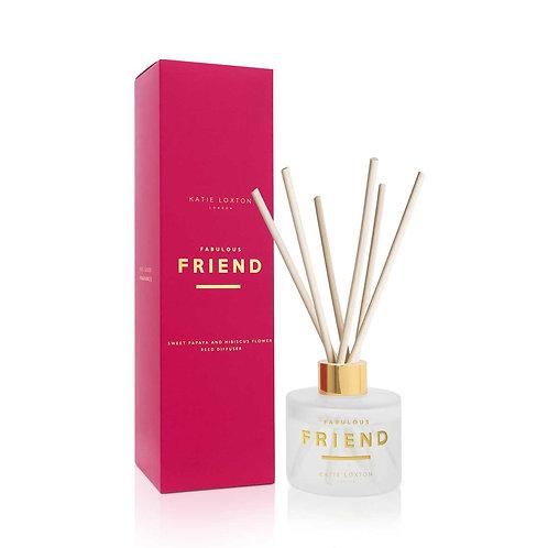 Katie Loxton - 'Fabulous Friend' Reed Diffuser - Sweet Papaya & Hibiscus Flower