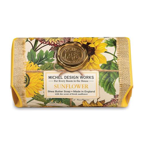 Sunflower Large Soap Bar