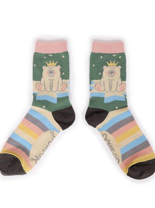 King Bear Ankle Sock