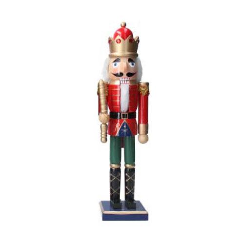 Wooden Nutcracker Ornament - Large
