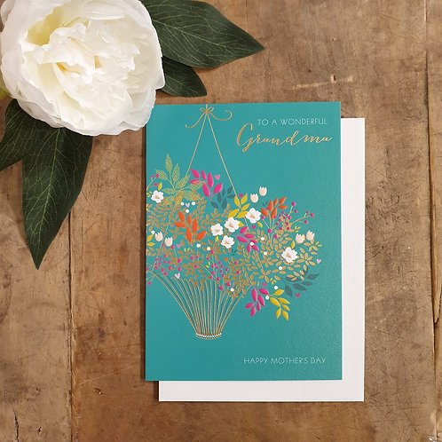 To a wonderful Grandma - Mother's Day Card