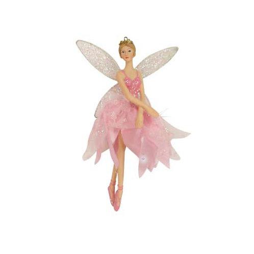 Pink Ballerina Fairy Decoration