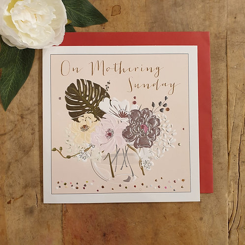 'On Mothering Sunday' - Mother's Day Card