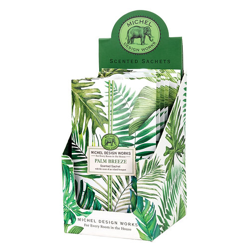 Palm Breeze Scented Sachets