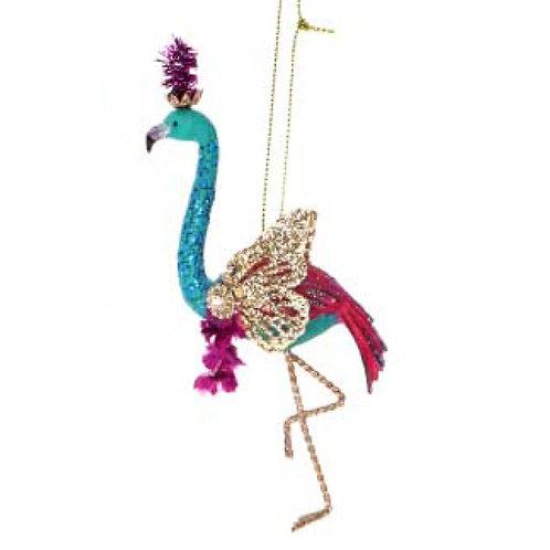 Fantasy Flamingo Decoration - Turquoise