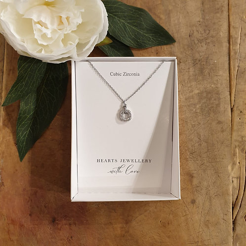 Diamante Necklace - Stainless Steel
