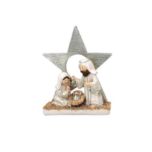 Pastel Mini Nativity Ornament