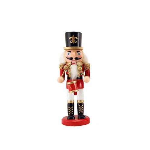 Wooden Nutcracker Ornament - Small