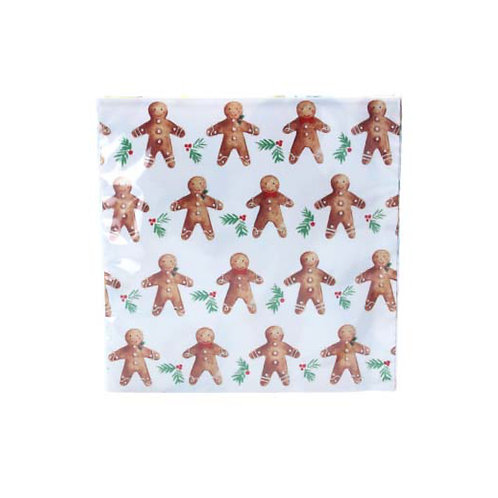 Gingerbread Men Paper Napkins