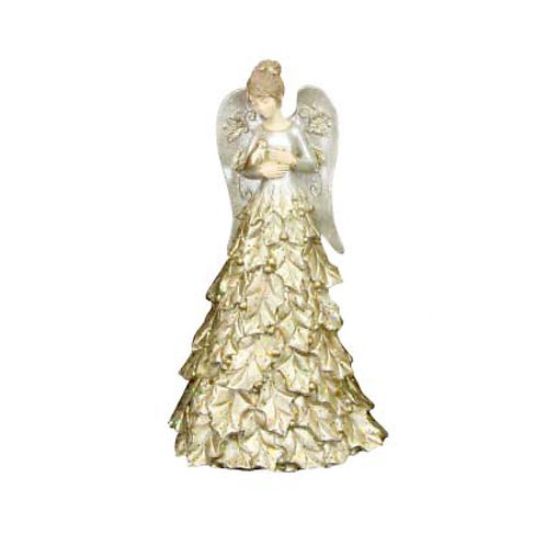 Gold & Silver Holy Angel Ornament