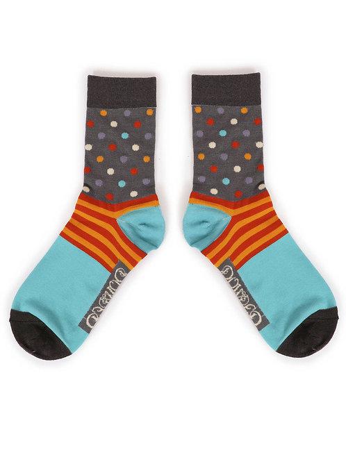 Spots Men's Ankle Socks