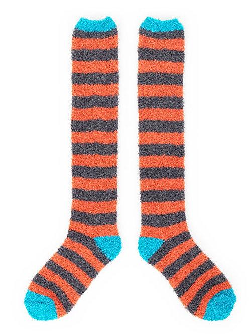 Fluffy Knee High Bed Socks