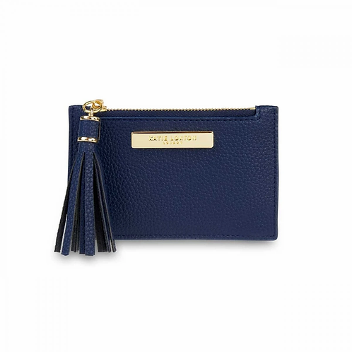 KATIE LOXTON TASSEL CARD HOLDER | NAVY