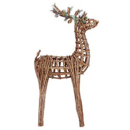 Twig Reindeer Ornament - Extra Large