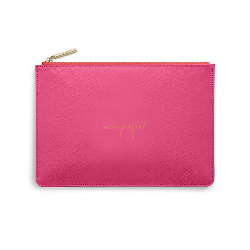 KATIE LOXTON COLOUR POP PERFECT POUCH | PRETTY PERFECT | BRIGHT PINK