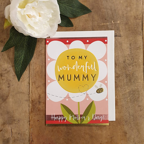 To my wonderful Mummy! - Mother's Day Card