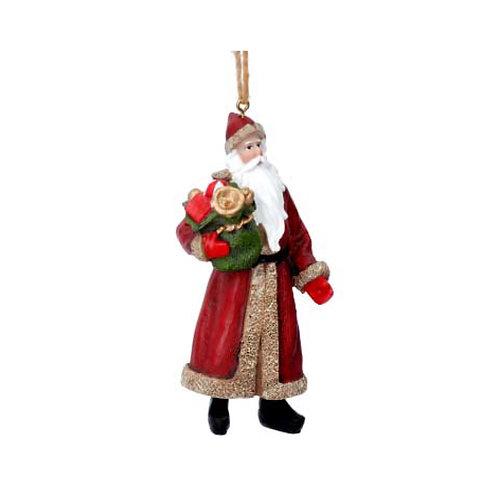 Nostalgic Santa with Sack Decoration