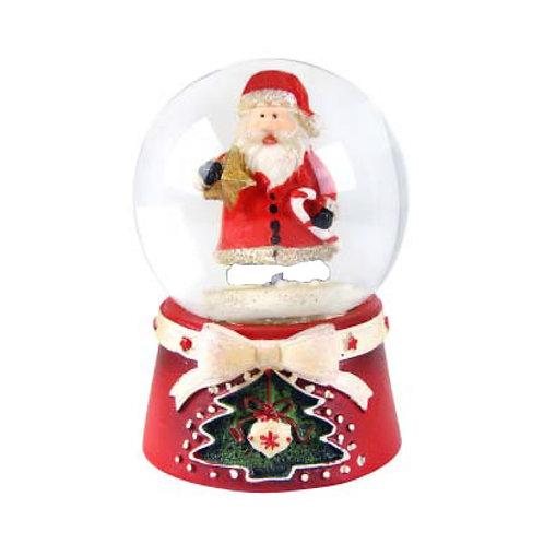 Santa Mini Snow Globe - 45mm