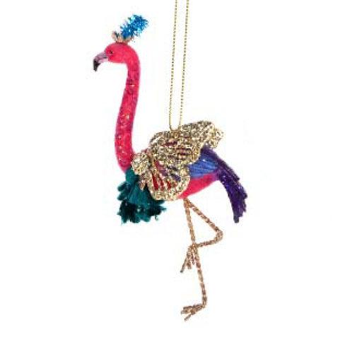 Fantasy Flamingo Decoration - Orange