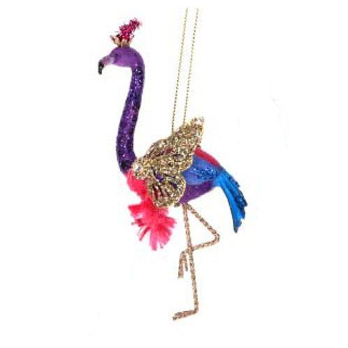 Fantasy Flamingo Decoration - Purple