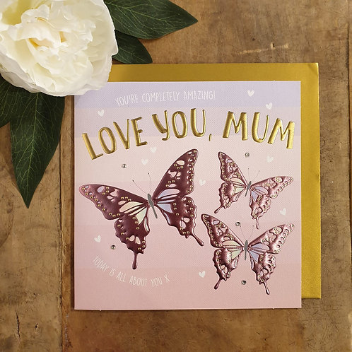 Love you, Mum - Mother's Day Card