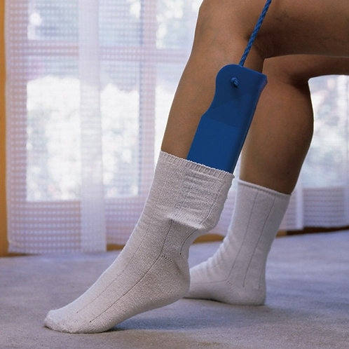 Sock Assist with Two cord handles